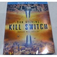 DAN STEVENS KILL SWITCH BLU-RAY+DIGITAL HD NEW W/ SLIPCOVER