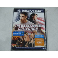 THE MARINE COLLECTION 4 MOVIE DVD SET NEW