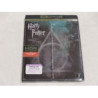 HARRY POTTER AND THE DEATHLY HALLOWS-PART 2 4K ULTRA HD+BLU-RAY+DIGITAL HD NEW