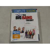 THE BIG BANG THEORY: FIRST AND SECOND SEASONS DVD SET NEW