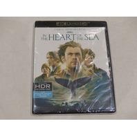 IN THE HEART OF THE SEA 4K ULTRA HD+BLU-RAY+DIGITAL HD NEW