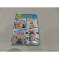 MRS. DOUBTFIRE/MARLEY AND ME/WE BOUGHT A ZOO/MR. POPPER'S PENGUINS 4 FAMILY DVD