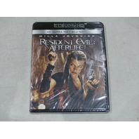 RESIDENT EVIL: AFTERLIFE 4K ULTRA HD+BLU-RAY NEW