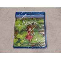 THE SECRET WORLD OF ARRIETTY BLU-RAY + DVD NEW / SEALED
