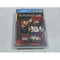 SUPERNATURAL: THE COMPLETE THIRD  AND FOURTH SEASONS (SEASON 3 & 4)  DVD SETS