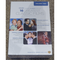 TURNER CLASSIC MOVIES 16 GREATEST CLASSIC FILMS COLLECTION VOLUME TWO DVD NEW