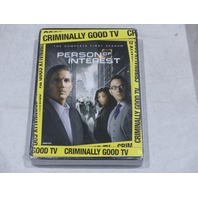 PERSON OF INTEREST: THE COMPLETE FIRST SEASON DVD SET NEW