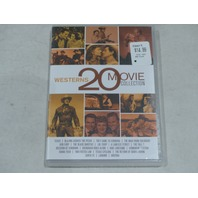 WESTERNS: 20 MOVIE COLLECTION DVD SET NEW