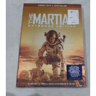 THE MARTIAN EXTENDED EDITION 2-DISC DVD+DIGITAL HD NEW / MATT DAMON