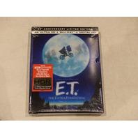 E.T. 35TH ANNIVERSARY LIMITED EDITION 4K ULTRA HD + BLU-RAY + DIGITAL HD NEW