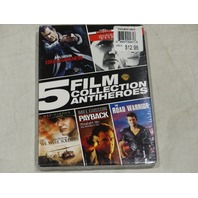 5 FILM COLLECTION: ANTIHEROES DVD SET NEW