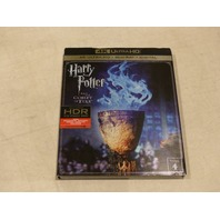 HARRY POTTER AND THE GOBLET OF FIRE 4K ULTRA HD+BLU-RAY+DIGITAL NEW W/ SLIPCOVER