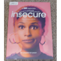 INSECURE: THE COMPLETE FIRST SEASON DVD+DIGITAL HD NEW