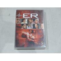 ER THE COMPLETE THIRD SEASON (SEASON 3) DVD NEW / SEALED