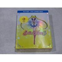 SAILOR MOON S: SEASON THREE BLU-RAY+DVD COMBO PACK NEW