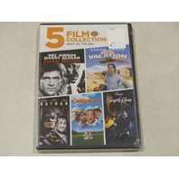 5-FILM COLLECTION BEST OF THE 80'S DVD NEW