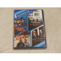 4 FILM FAVORITES: BUDDIES AND BADGES COLLECTION DVD SET NEW