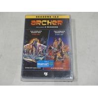 ARCHER: SEASONS 1 & 2 (SEASON ONE & TWO) DVD SET NEW / SEALED