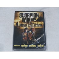 SCORPION KING 4-MOVIE COLLECTION DVD SET NEW