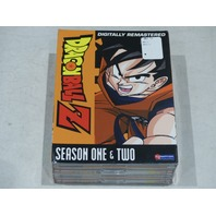 DRAGONBALL Z: SEASON ONE AND TWO DVD SET NEW