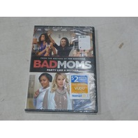 BAD MOMS DVD + $2 VUDU MOVIE CREDIT NEW / SEALED