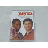 PSYCH THE COMPLETE THIRD SEASON DVD NEW