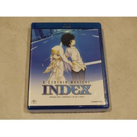 A CERTAIN MAGICAL INDEX SEASON ONE BLU-RAY NEW