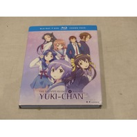THE DISAPPEARANCE OF NAGATO: YUKI-CHAN BLU-RAY+DVD COMBO PACK NEW W/ SLIPCOVER