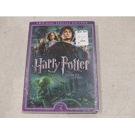 HARRY POTTER AND THE GOBLET OF FIRE TWO-DISC SPECIAL EDITION YEAR 4 DVD NEW