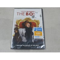 THE BOSS UNRATED DVD + $2 VUDU MOVIE CREDIT NEW / SEALED