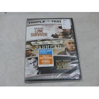 LONE SURVIVOR, JARHEAD, GREEN ZONE DVD NEW