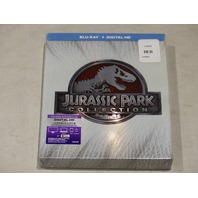 JURASSIC PARK COLLECTION BLU-RAY+DIGITAL HD NEW