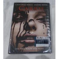 CARRIE DVD NEW W/ CHLOE GRACE MORETZ & JULIANNE MOORE