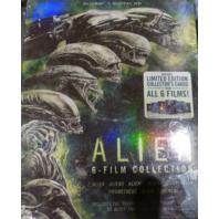 ALIEN 6-FILM COLLECTION BLU-RAY+DIGITAL HD NEW/ SEALED