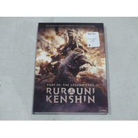 RUROUNI KENSHIN PART III: THE LEGEND ENDS DVD NEW / SEALED WITH SLIPCOVER