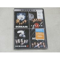SCREAM 1-4 DVD NEW