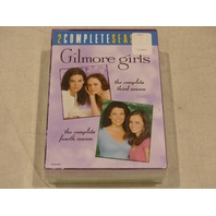 GILMORE GIRLS: THE COMPLETE THIRD AND FOURTH SEASONS DVD SETS NEW
