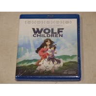 WOLF CHILDREN BLU-RAY NEW W/ OUT SLIPCOVER