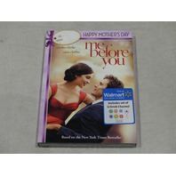 ME BEFORE YOU DVD INCLUDES SET OF 6 DRINK CHARMS NEW W/ SLIPCOVER