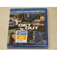 GET OUT BLU-RAY+DVD+DIGITAL HD NEW