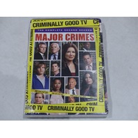MAJOR CRIMES: THE COMPLETE SECOND SEASON DVD SET NEW