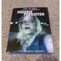 PHOENIX FORGOTTEN BLU-RAY+DVD+DIGITAL HD NEW W/ SLIPCOVER