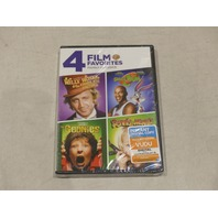 4 FILM FAVORITES: FAMILY CLASSICS DVD NEW