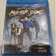 ASH VS. EVIL DEAD: SEASON 2 BLU-RAY NEW W/ OUT SLIPCOVER