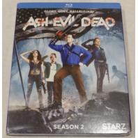 ASH VS. EVIL DEAD: SEASON 2 BLU-RAY NEW W/ SLIPCOVER