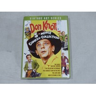 DON KNOTS 5-MOVIE COMEDY COLLECTION VINTAGE ART SERIES DVD NEW