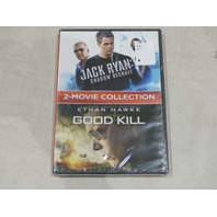 2 MOVIE COLLECTION JACK RYAN SHADOW RECUIT AND GOODKILL DVD NEW