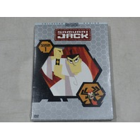 SAMURAI JACK: SEASON 1 COLLECTOR SERIES DVD SET NEW