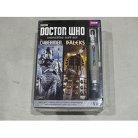 DOCTOR WHO MONSTER GIFT SET THE CYBERMEN AND THE DALEKS INCLUDES A TENTH DOCTOR