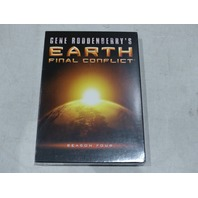 GENE RODDENBERRY'S EARTH: FINAL CONFLICT SEASON FOUR DVD SET NEW